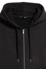 Sweat zippé Regular fit - Noir - HOMME | H&M CH 3